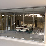 Frameless Glass Doors and Frameless Sliding Stacking Doors