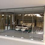 Frameless Glass Doors and Frameless Sliding Stacking Doors