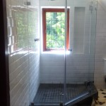 Pentagonal Frameless Shower Enclosure