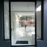 Frameless Pivot Door