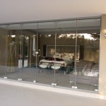 Frameless Sliding Folding Door