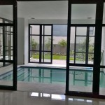 Internal sliding folding doors